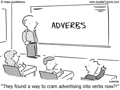 adverb cartoon