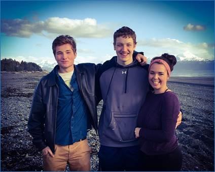 Liam, Johann, Lyndsay
