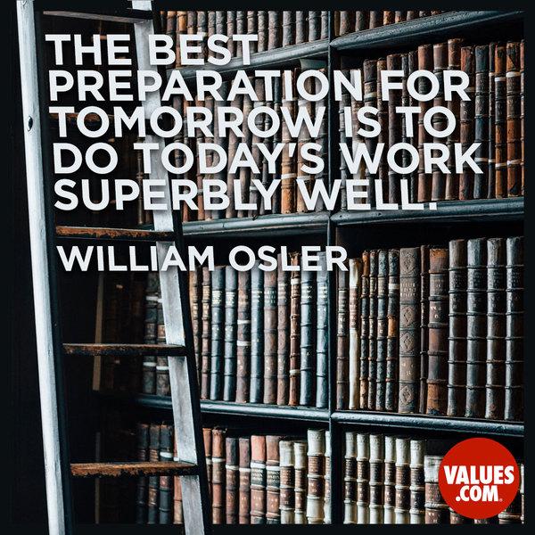 Osler Quote